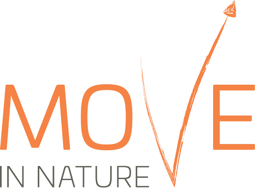 Move in Nature - Logo Orange